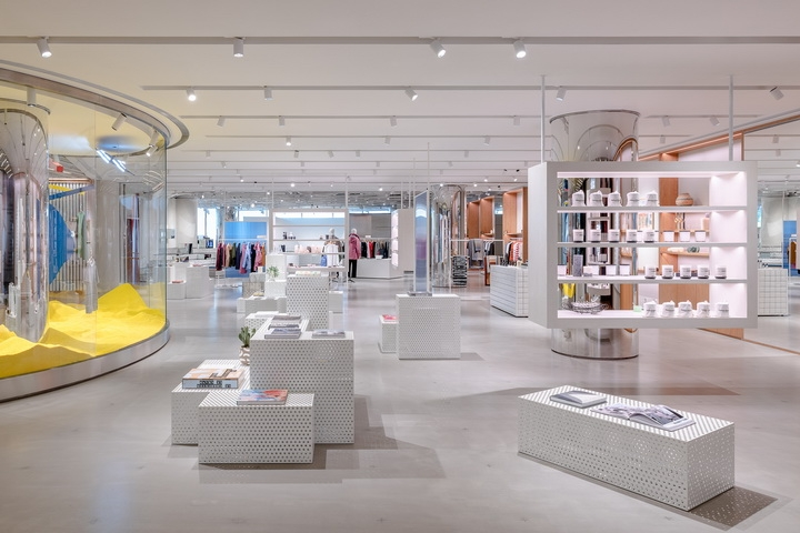 Assemble by Réel concept store by Kokaistudios in Shanghai