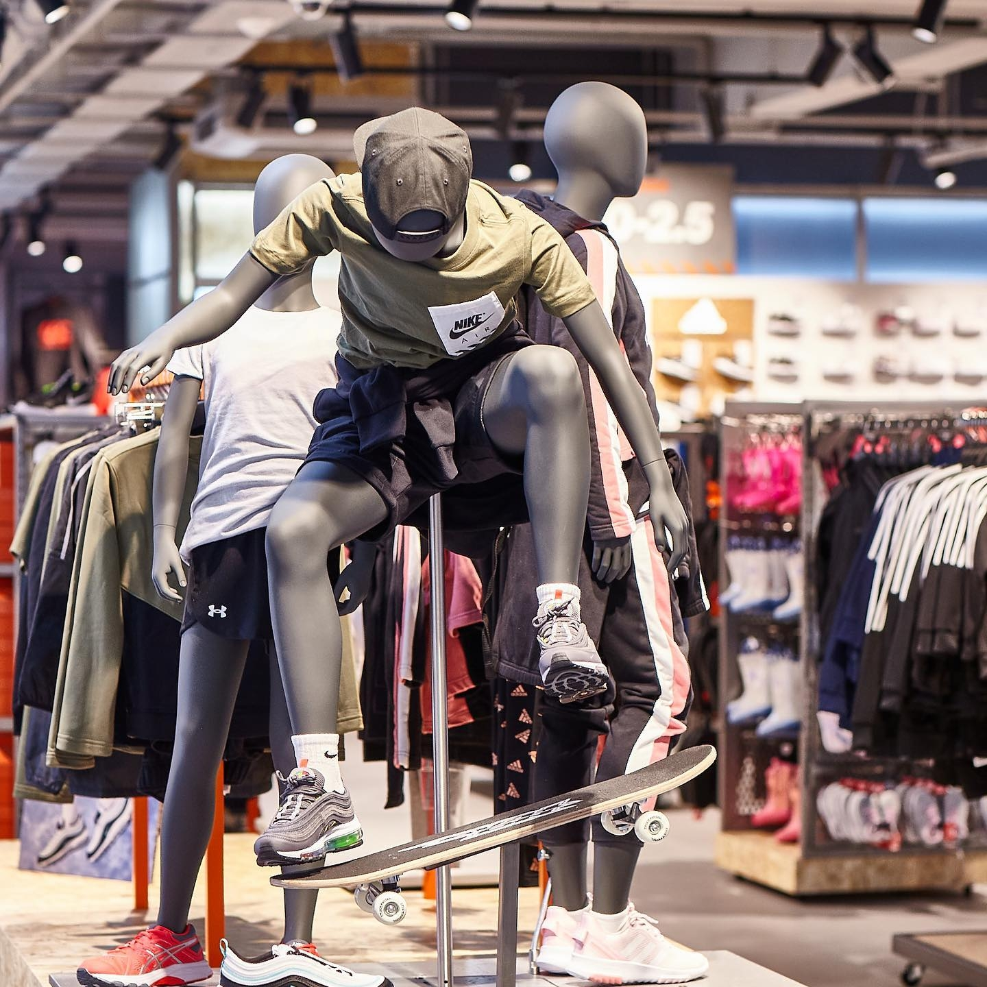 Sportsdirect flagship store on Oxford Street  London's by The One Off design team