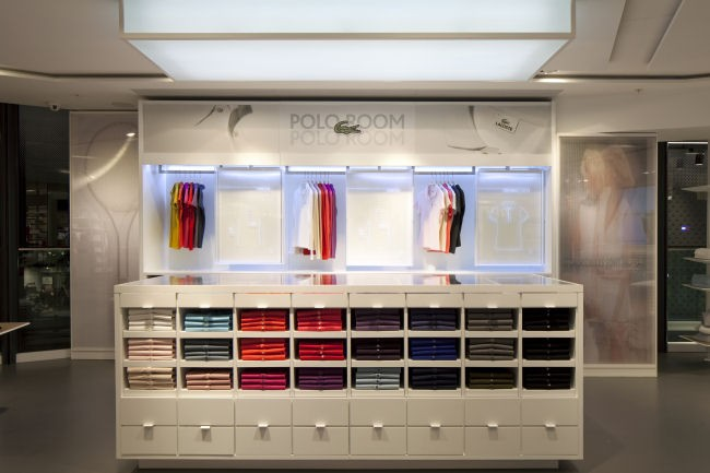 Lacoste flagship store design London
