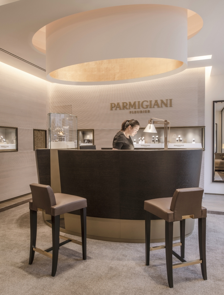 Parmigiani Fleurier luxury watch boutique design in London
