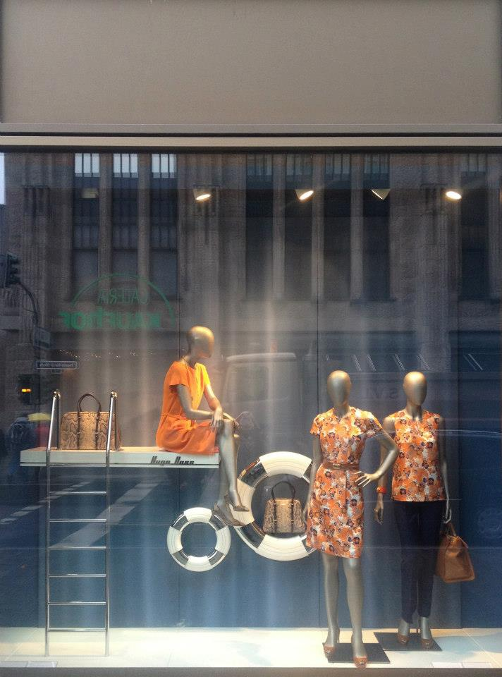 HUGO BOSS shop windows design  Düsseldorf, Germany