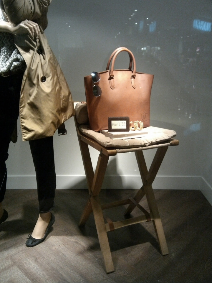 The chic shop windows: Massimo Dutti