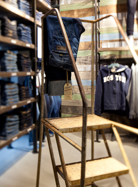 Wrangler's very first stand-alone store in Leipzig Germany