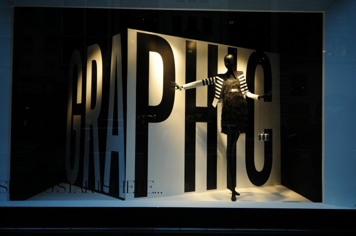 Lord & Taylor new Spring windows on  Fifth Avenue