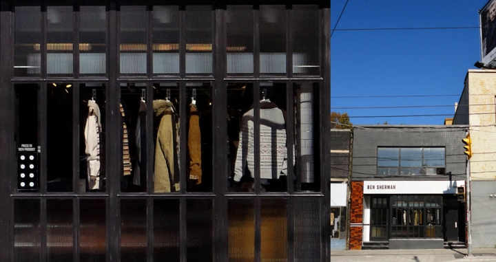 Ben Sherman flagship store by Brinkworth, London