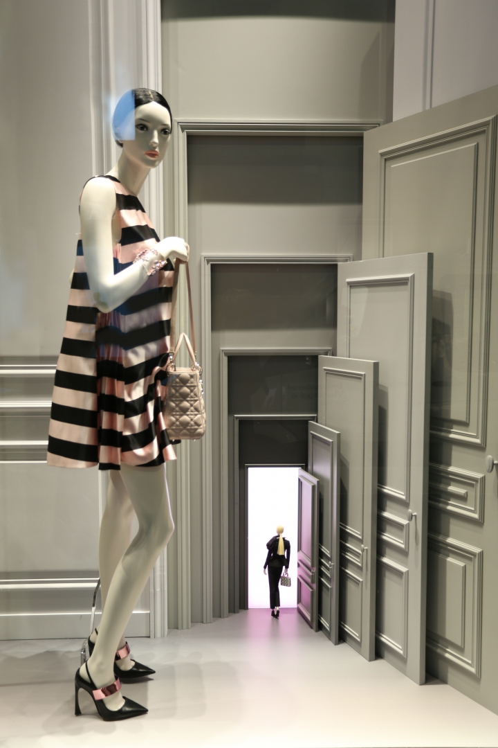 Dior windows displays 2013