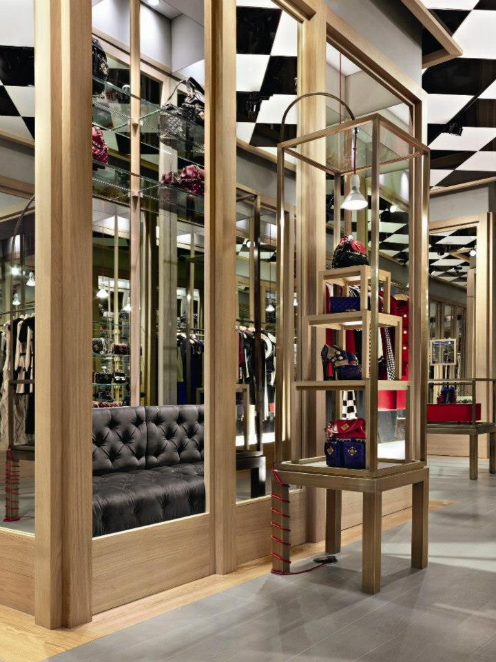 Moschino boutique in Milan - new concept