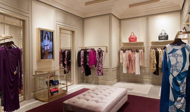 Emilio Pucci Boutique in New Delhi by Joseph Dirand