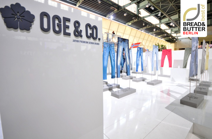 OGE&CO STAND AT Bread & Butter Berlin 2013