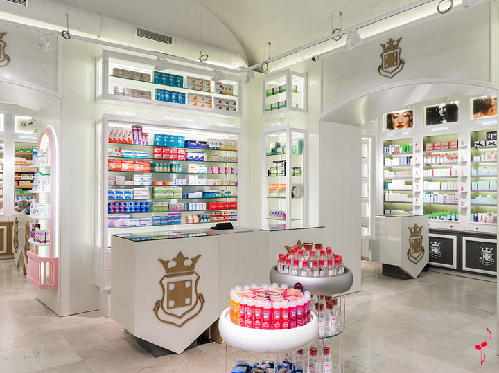 PALAU pharmacy by MARKETING-JAZZ, Barcelona – Spain