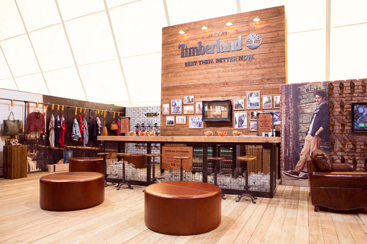 Timberland visual merchandising by Green Room