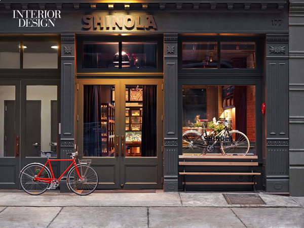 Shinola Shop by Rockwell Group