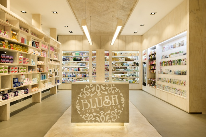 Blush Cosmetics flagship store by Mima Design, Sydney