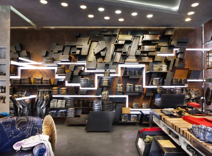 RIFLE flagship store by David Rossi Design, Milan – Italy