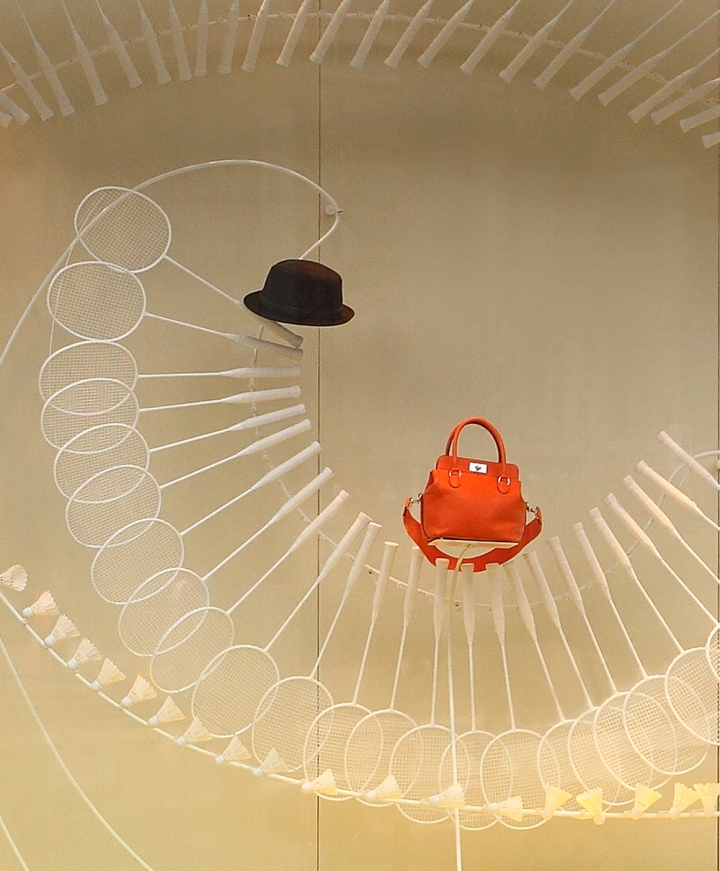 Hermès window display by Design Systems Ltd, China