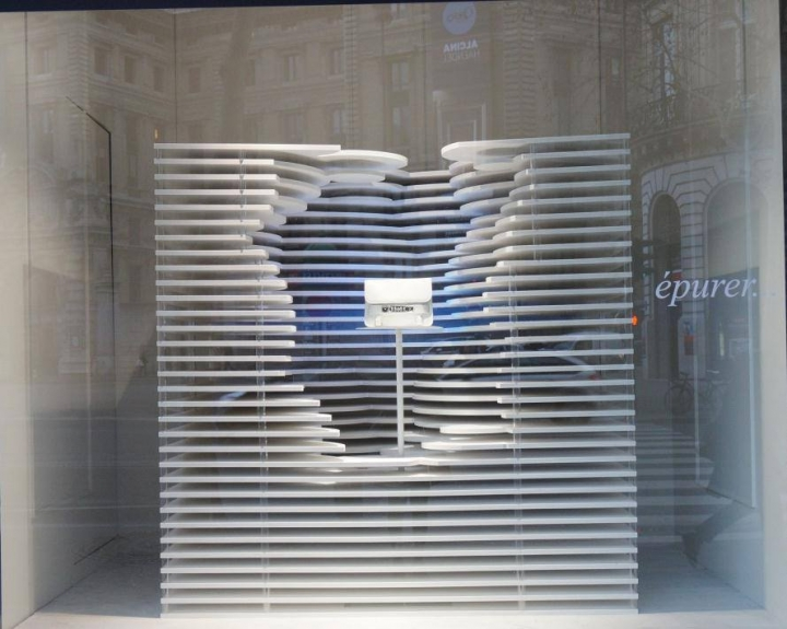 White theme on Galeries Lafayette