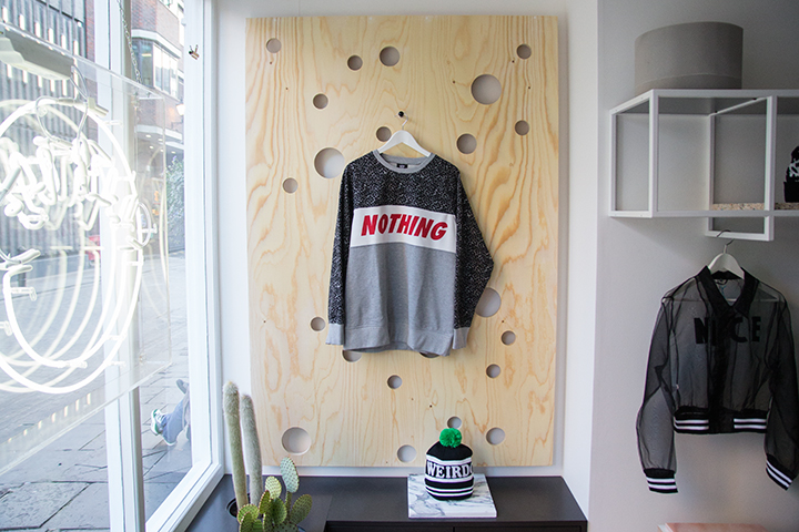 The newly refurbished Lazy Oaf London store