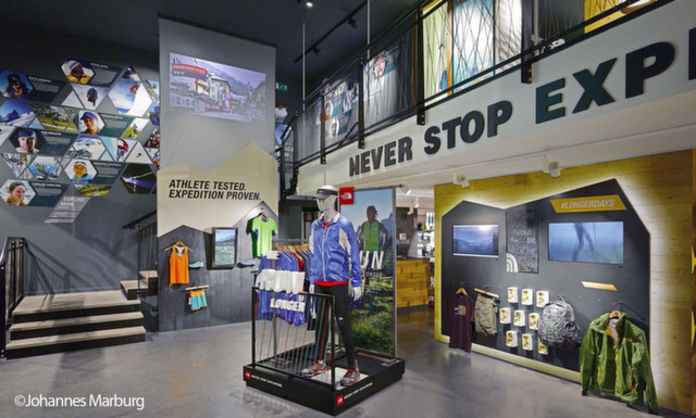 The North Face Flagship Store Design, Milan by Green Room