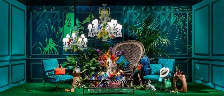 Printemps windows display spring 2014
