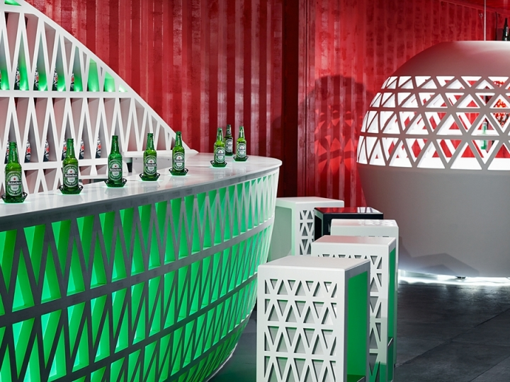 Pop-Up City Lounge by Heineken