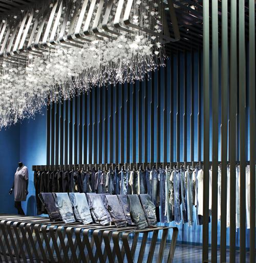 Yabu Pushelberg visual merchandising Lotte Centum