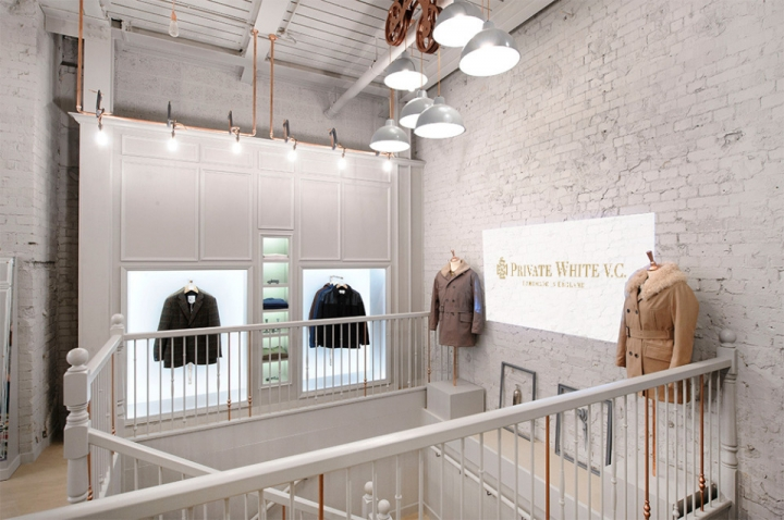 Exciting retail concept for Private White V.C. Flagship in London