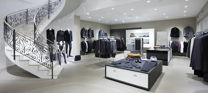 Tiger of Sweden flagship store by Koncept Stockholm