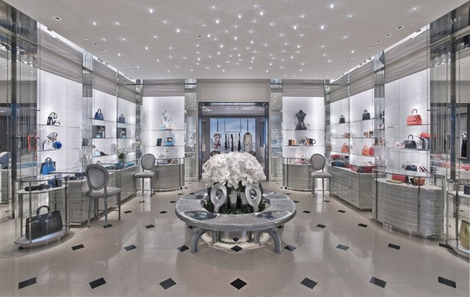 Dior Flagship Store At Marina Bay Sands Gets A Facelift