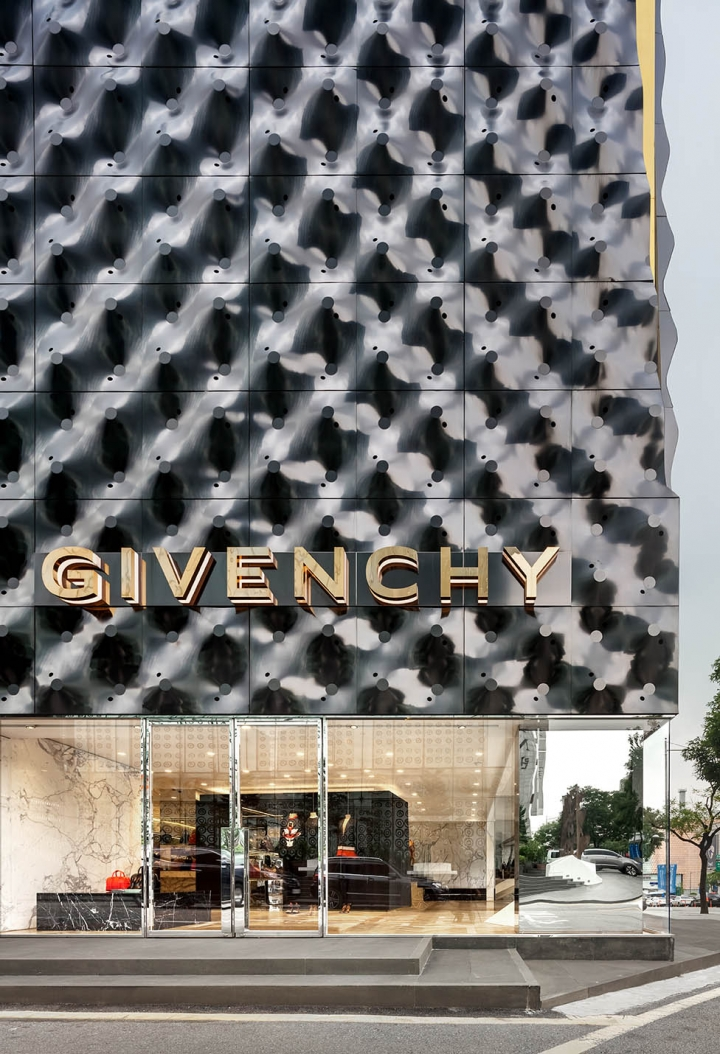 Givenchy Flagship Store design in Seoul by Piuarch 2014
