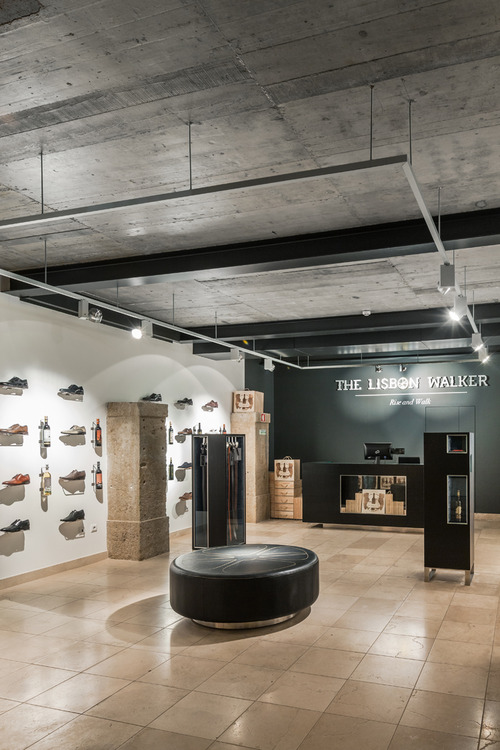The Lisbon Walker Flagship Concept Store by Felipe Melo Oliveira