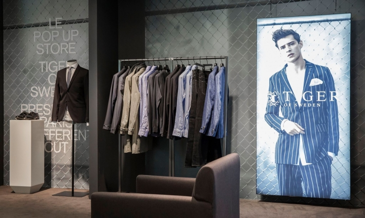 Tiger of Sweden Opens Pop Up Store at Galeries Lafayette