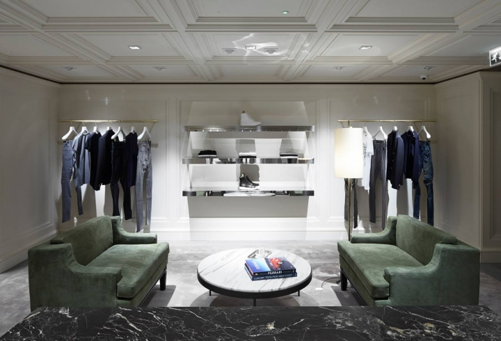 Balmain first London flagship by Joseph Dirand