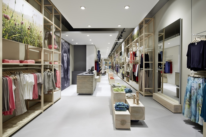 hessnatur Store by Blocher Blocher Shops