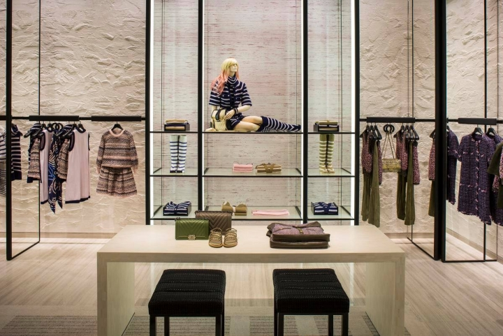 Chanel reopens enlarged store at South Coast Plaza Mall by Peter Marino