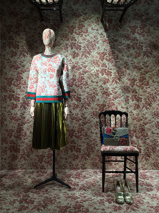 Gucci New York windows display - Cruise Windows 2016