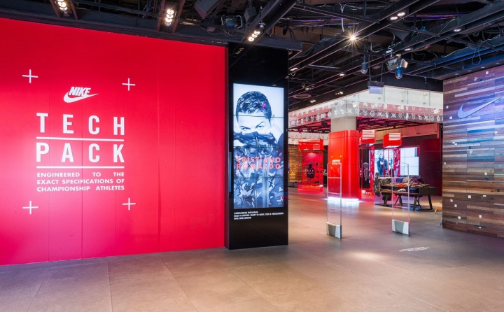 Nike Tech Pack 2015 - Nike Town London by Millington Associate