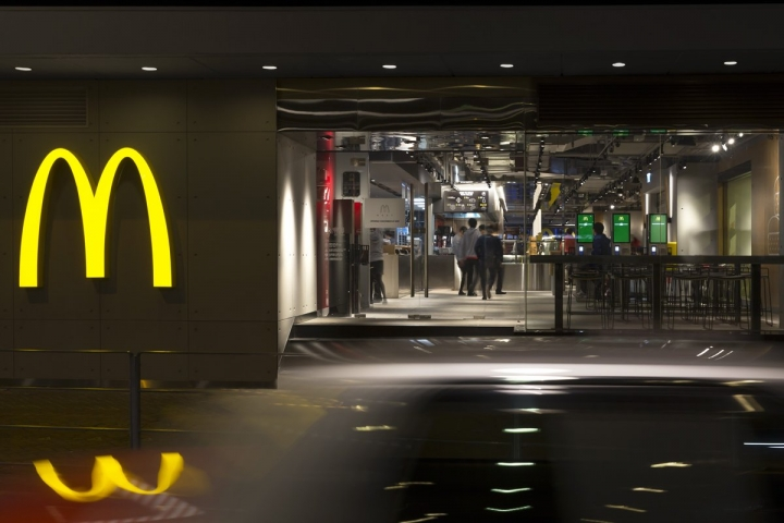 The McDonald's of the Future by Landini Associates in Hong Kong