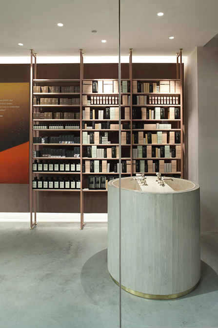Aesop store design MUNICH by Einszu33