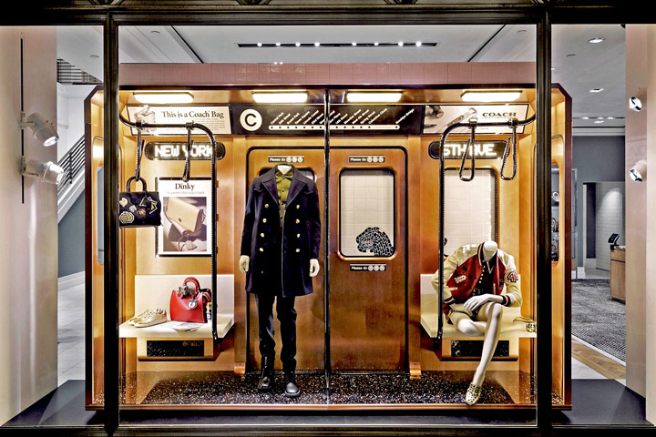 Subway 2016 windows by Coach & Booma Group, New York