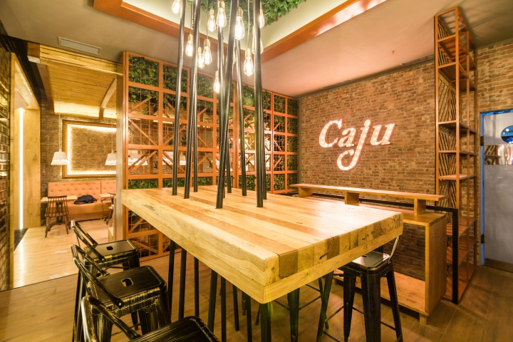 Caju by Joseph Hadad restaurant in Bucharest by grosu art studio