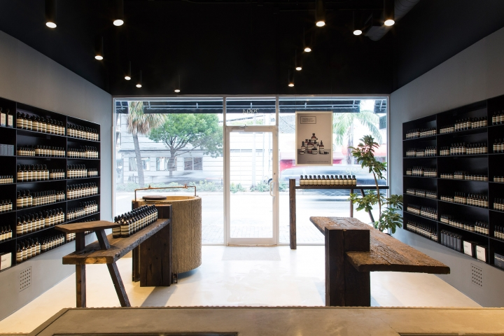 Frida Escobedo designs Aesop stores in Florida