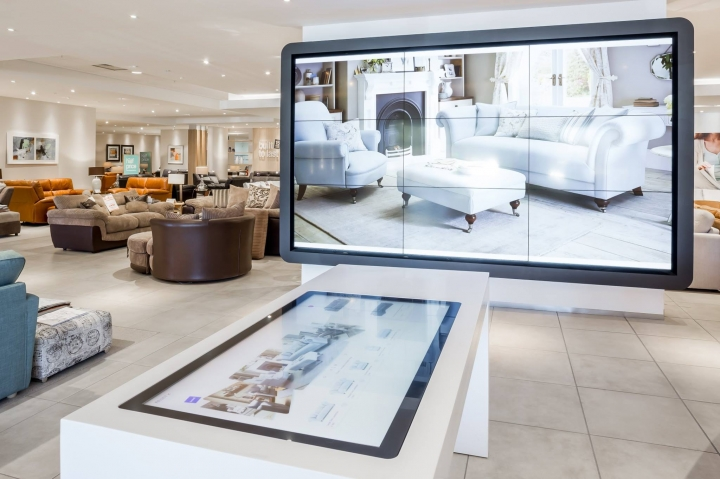 DFS unveiled new furniture showroom in Edinburgh designed by je+1