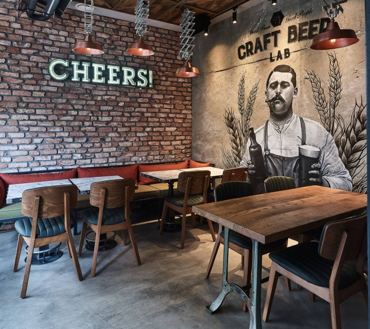 Craft Beer Lab design studio Naif Tasarim