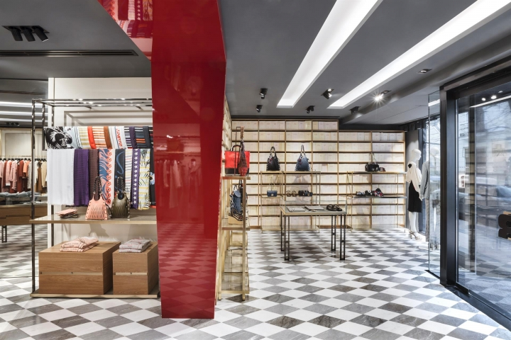 The new Sonia Rykiel boutique in Madrid by Studio Vudafieri-Saverino Partners