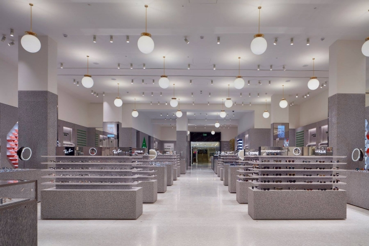 Accessories Hall in Selfridges London by David Chipperfield