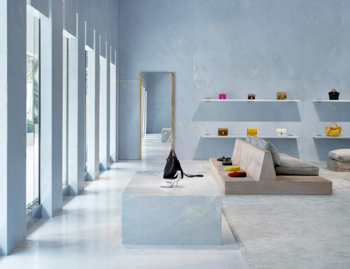 Céline flagship Miami store by Valerio Olgiati in Miami