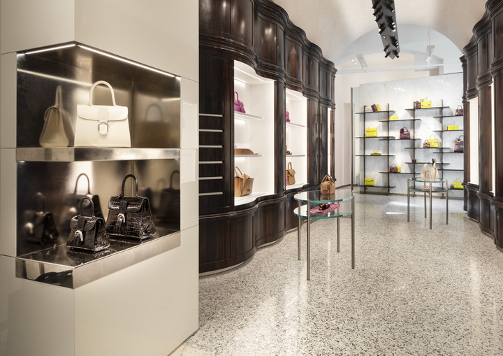 Delvaux's new Milan boutique by Vudafieri-Saverino Partners