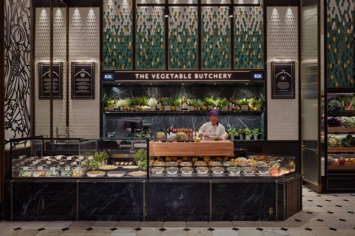Harrods has launched its new Fresh Market Hall