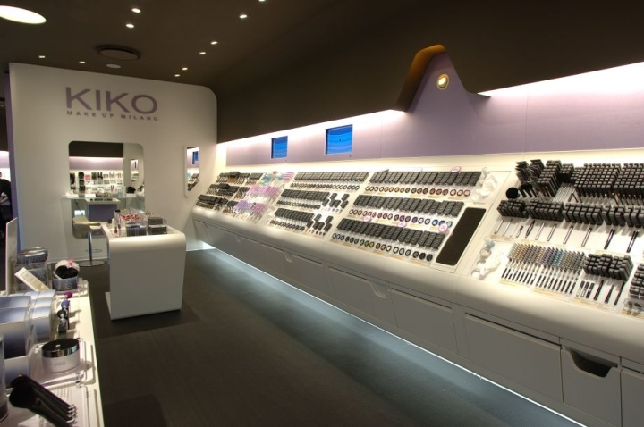 Kiko Make Up Milano, Stores since 2006