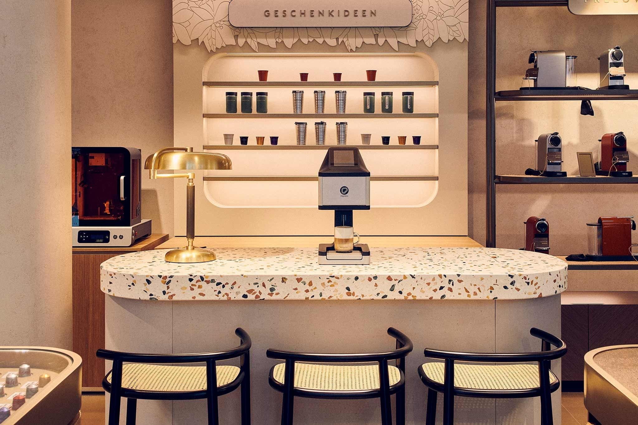 Nespresso experiential concept store in Vienna